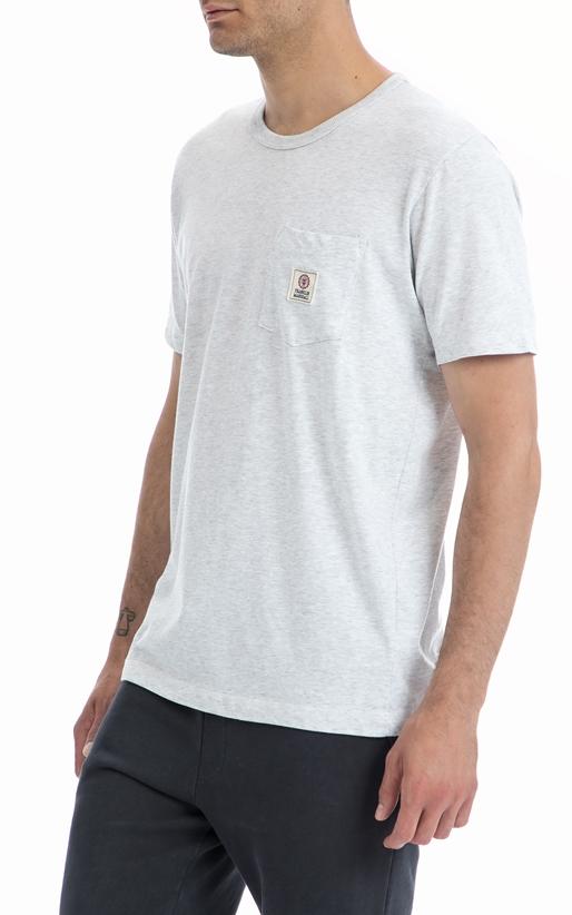 FRANKLIN & MARSHAL-Ανδρική μπλούζα Franklin & Marshall γκρι