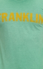 FRANKLIN & MARSHALL-Ανδρική μπλούζα Franklin & Marshall πράσινη