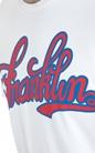 FRANKLIN & MARSHALL-Ανδρική μπλούζα Franklin & Marshall λευκή