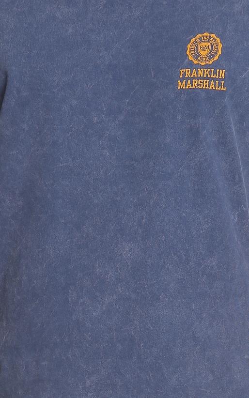 FRANKLIN & MARSHALL-Αντρική μπλούζα TSHIRT JERSEY FRANKLIN & MARSHALL