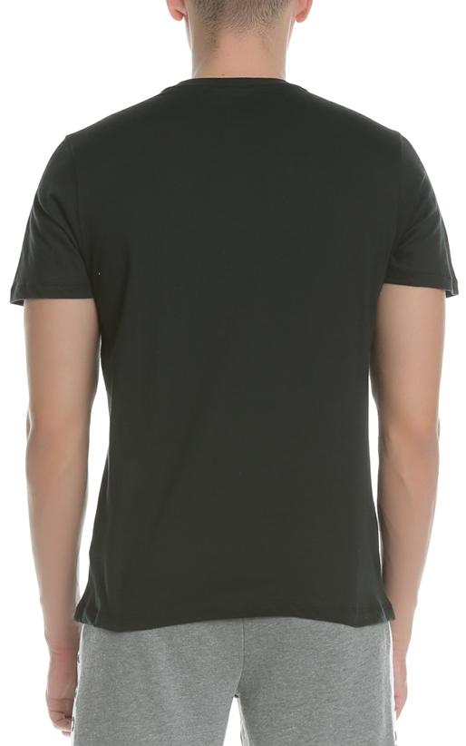 FRANKLIN & MARSHALL-Ανδρική κοντομάνικη μπλούζα FRANKLIN & MARSHALL μαύρη