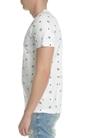 FRANKLIN & MARSHALL-Ανδρική κοντομάνικη μπλούζα Franklin & Marshall λευκή