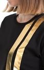 FRANKLIN & MARSHALL-Γυναικείο T-SHIRT JERSEY FRANKLIN & MARSHALL μαύρο
