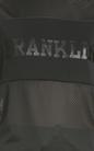 FRANKLIN & MARSHALL-Γυναικεία κοντομάνικη μπλούζα Franklin & Marshall μαύρη
