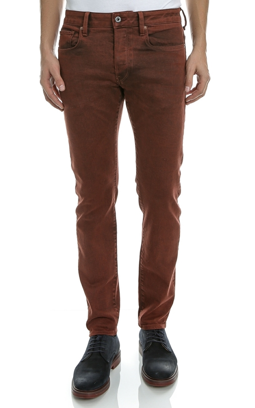 G-STAR-Ανδρικό παντελόνι G-STAR RAW καφέ