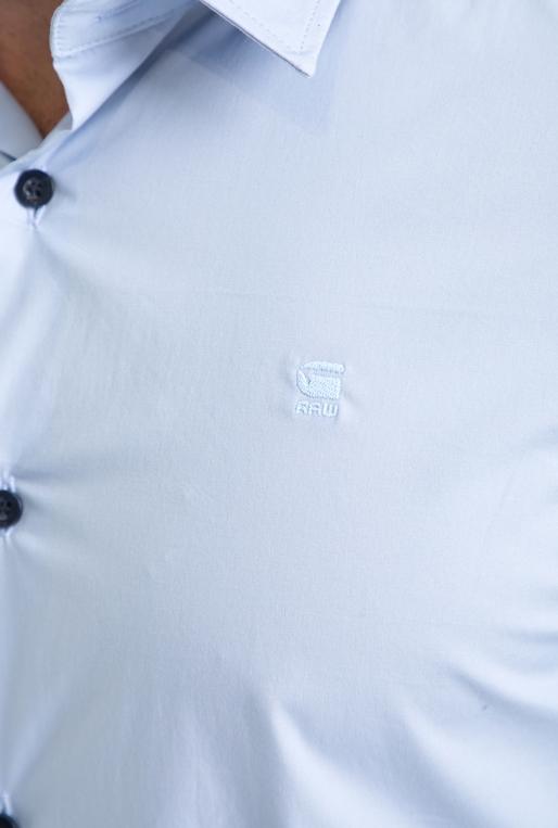 G-STAR-Ανδρικό πουκάμισο CORE G-STAR RAW μπλε