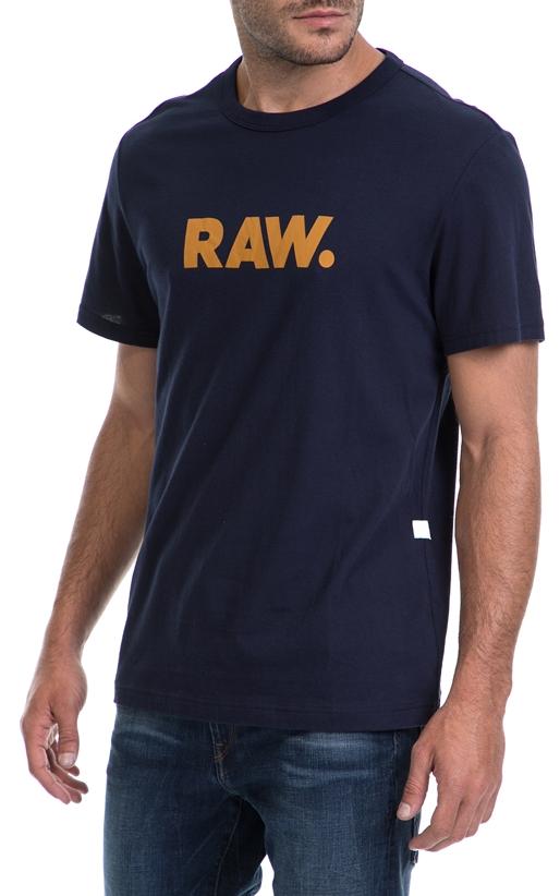 G-STAR-Ανδρικό t-shirt G-STAR RAW μπλε