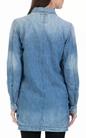 G-STAR RAW-Γυναικείο τζάκετ Bronson utility overcoat μπλε