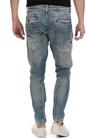 G-STAR RAW-Ανδρικό τζιν παντελόνι G-Star D-STAQ 3D SUPER SLIM μπλε