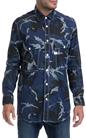 G-STAR-Ανδρικό πουκάμισο G-STAR RAW μπλε