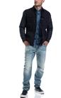 G-STAR-Αντρικό μπουφάν HC padded overshirt G-STAR RAW μπλε