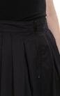 G-STAR-Γυναικεία midi φούστα G-Star μαύρη