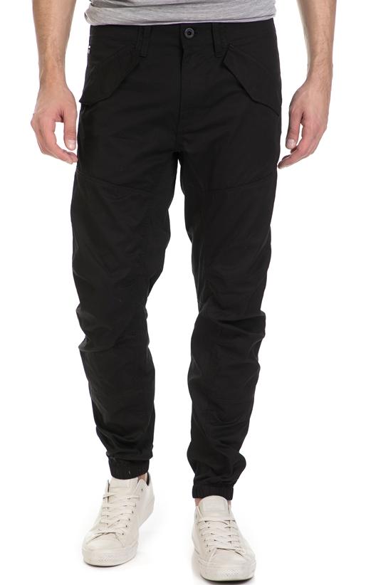 G-STAR RAW-Ανδρικό παντελόνι G-Star Rovic dc tapered cuffed μαύρο