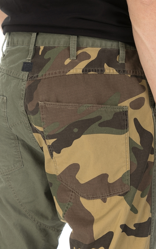 G-STAR RAW-Ανδρικό παντελόνι G-Star  SPM 3D LOOSE χακί