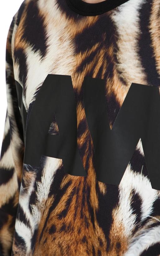 G-STAR-Ανδρική μακρυμάνικη φούτερ μπλούζα G-Star μαύρη - καφέ