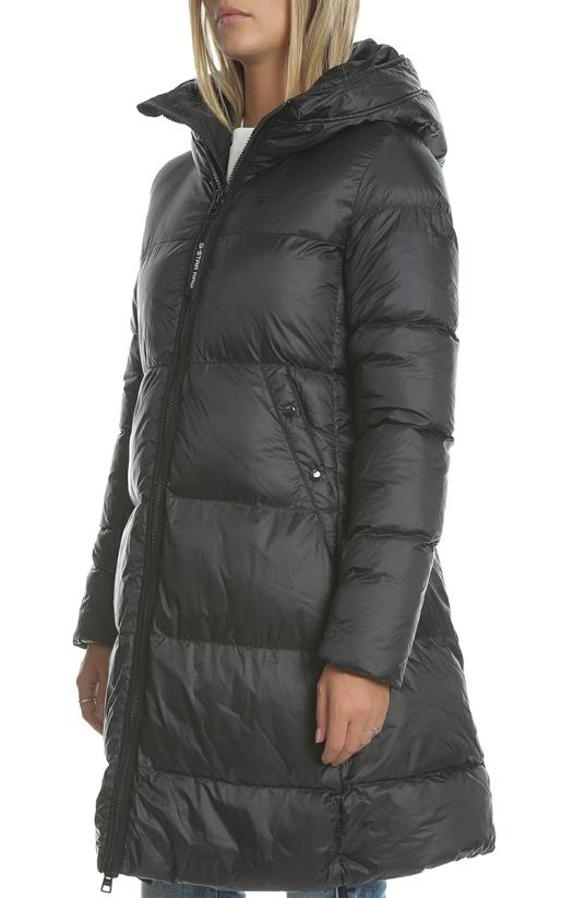 Γυναικείο μακρύ φουσκωτό μπουφάν G-STAR RAW μαύρο (1713961 ... 61243a4d54b