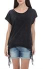 GARCIA JEANS-Γυναικεία μπλούζα Garcia Jeans μαύρη