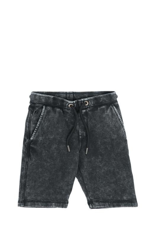 GARCIA JEANS-Παιδική βερμούδα Garcia Jeans γκρι-μαύρη