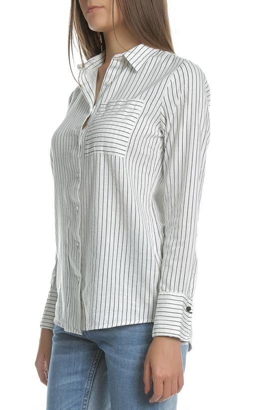 GARCIA JEANS- Γυναικείο μακρυμάνικο ριγέ πουκάμισο Garcia Jeans