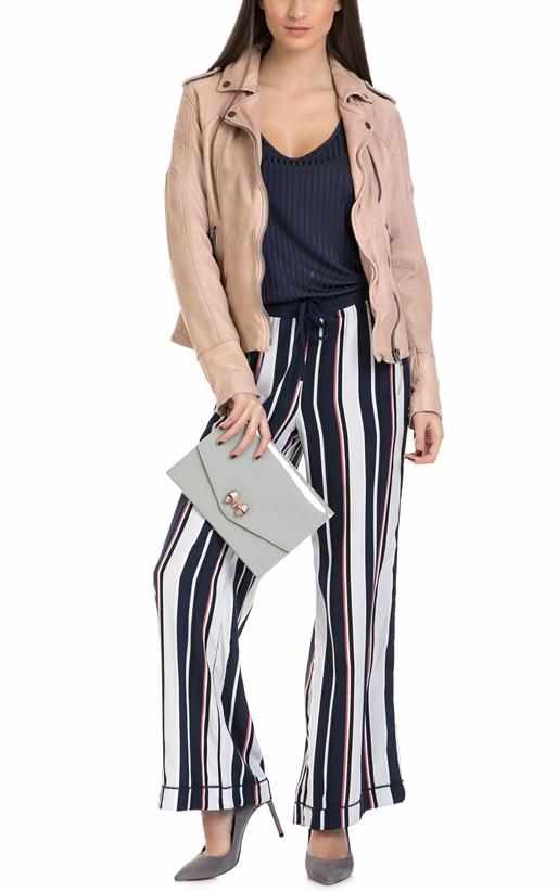 GARCIA JEANS-Γυναικεία αμάνικη μπλούζα Garcia Jeans μπλε