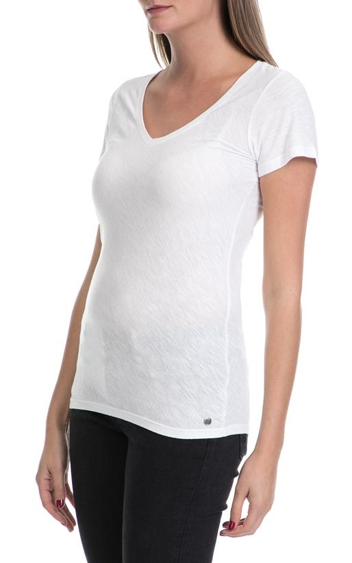 GARCIA JEANS-Γυναικείο T-shirt Donna ladies GARCIA JEANS λευκό