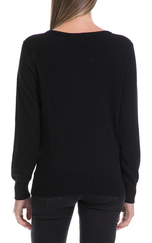 GARCIA JEANS-Γυναικείο πουλόβερ Carla ladies GARCIA JEANS μαύρο