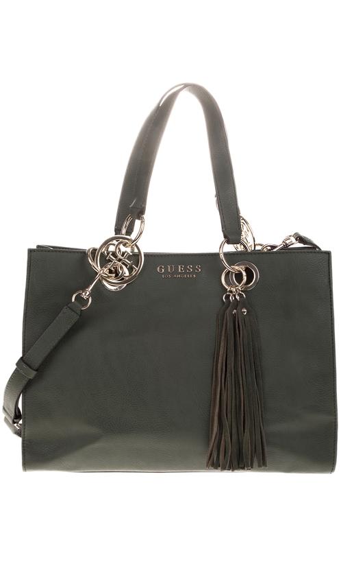 Γυναικεία τσάντα ώμου ALANA Carryall μαύρη - GUESS (1663050 ... b327e0ffff2