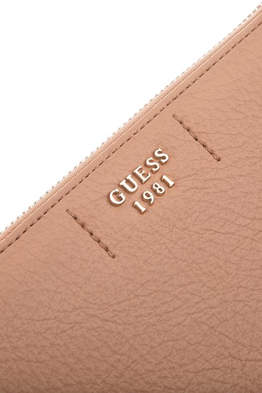 470db16aaf Γυναικείο πορτοφόλι GUESS TRUDY καφέ (1609143)