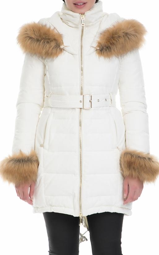 Γυναικείο μπουφάν SUNNY GUESS λευκό (1574425)  b2a0e2b49d3