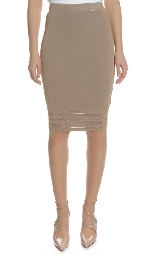 Γυναικεία midi pencil φούστα ALLEGRA GUESS μπεζ (1685972 ... a3690d38926