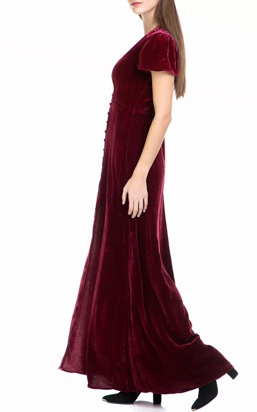 HALE BOB-Γυναικείο φόρεμα HALE BOB κόκκινο