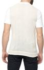HAMAKI HO -Ανδρική κοντομάνικη μπλούζα HAMAKI HO λευκή