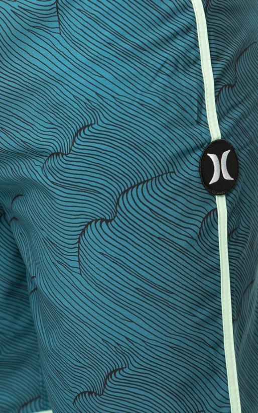 HURLEY-Ανδρικό μαγιό βερμούδα HURLEY PHANTOM THALIA STREET μπλε