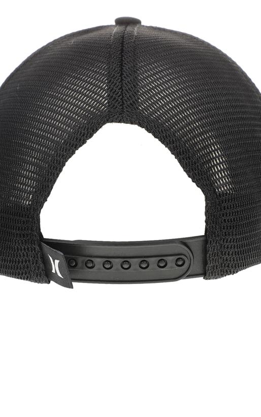 HURLEY-Ανδρικό καπέλο Hurley MILNER TRUCKER μαύρο