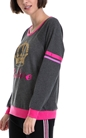 JUICY COUTURE-Γυναικεία μπλούζα JUICY COUTURE γκρι