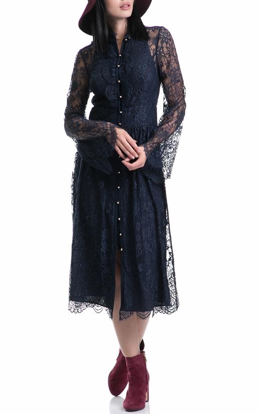 JUICY COUTURE-Γυναικείο φόρεμα KENDALL JUICY COUTURE μπλε