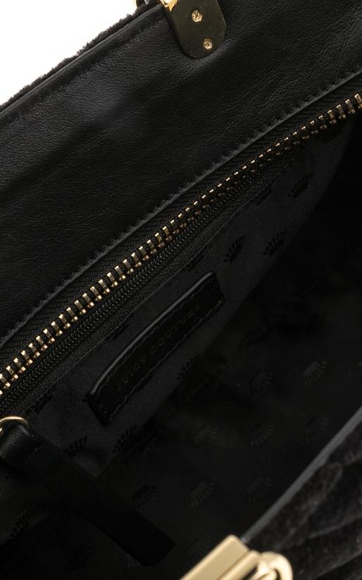 JUICY COUTURE-Γυναικεία τσάντα FAIRMONT FAIRYTALE JUICY COUTURE μαύρη