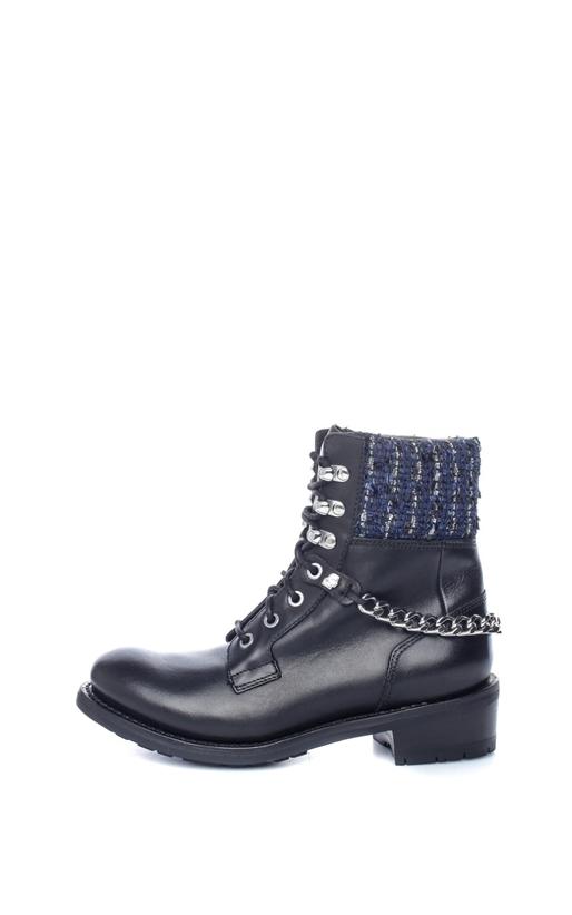 KARL LAGERFELD-Γυναικεία μποτάκια Lace Boot Mix μαύρα