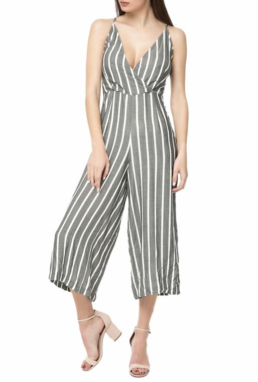 4217a1c56e6 Γυναικεία ολόσωμη cropped φόρμα L.A. DOLLS LILI ριγέ