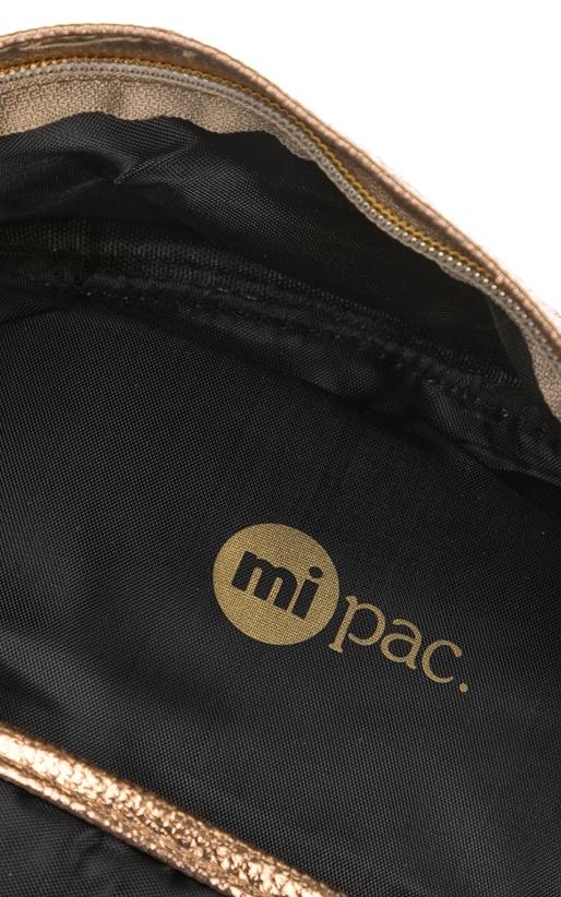 MIPAC-Γυναικεία τσάντα πλάτης Mi-Pac Metallic χρυσή