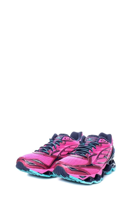 MIZUNO-Γυναικεία αθλητικά παπούτσια J1GD170018 Wave Prophecy 6 MIZUNO ροζ-μαύρα