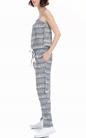MOLLY BRACKEN-Ολόσωμη φόρμα MOLLY BRACKEN λευκή-μαύρη