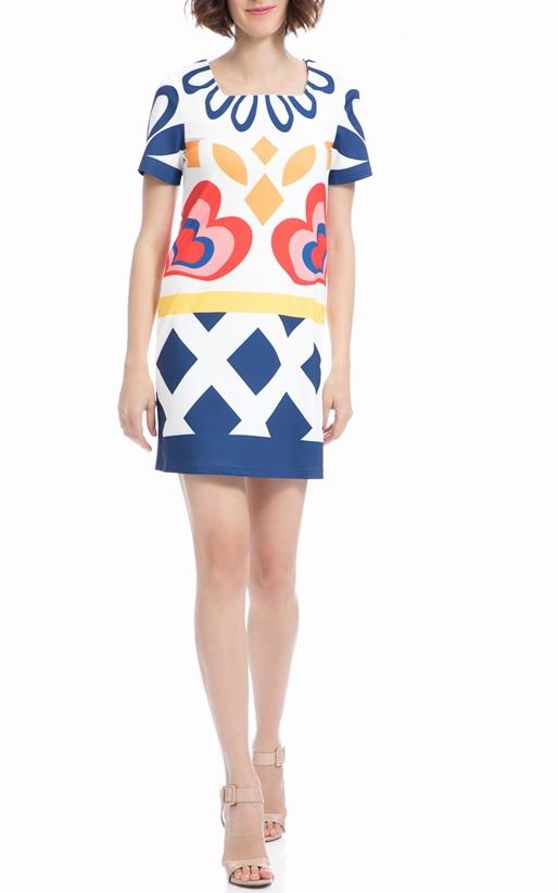 MOLLY BRACKEN-Φόρεμα MOLLY BRACKEN λευκό