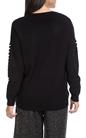 MOLLY BRACKEN-Γυναικείο πουλόβερ MOLLY BRACKEN μαύρο