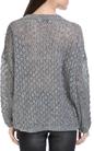 MOLLY BRACKEN-Γυναικείο πουλόβερ MOLLY BRACKEN γκρι