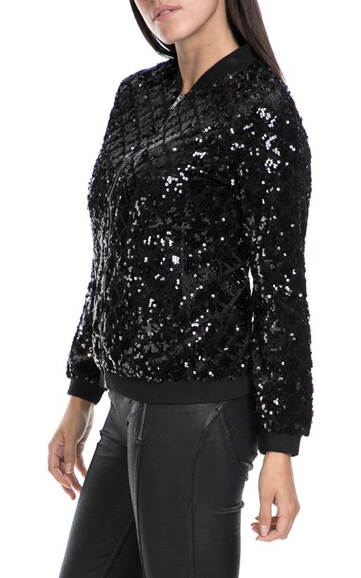 MOLLY BRACKEN-Γυναικεία ζακέτα MOLLY BRACKEN μαύρη