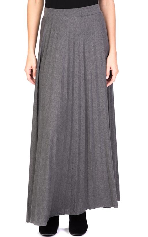 MOLLY BRACKEN-Γυναικεία πλισέ φούστα MOLLY BRACKEN γκρι 45e3590aed9