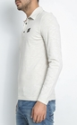 NAPAPIJRI-Ανδρική μπλούζα πόλο NAPAPIJIRI ENESY λευκή