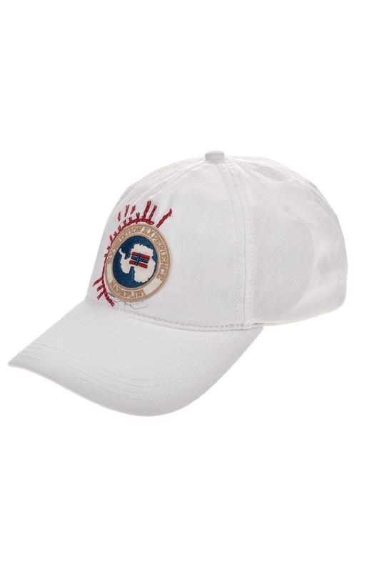 NAPAPIJRI-Ανδρικό καπέλο NAPAPIJRI FIARRA1 λευκό