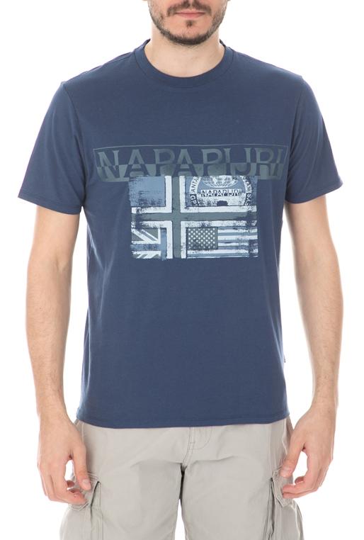 5fc7e7ca84c3 Ανδρική μπλούζα NAPAPIJRI μπλε (1733626)